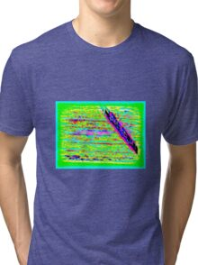 Abstract Wood Tri-blend T-Shirt