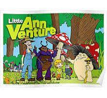 Little Ann Venture and the banana flavoured roadblock Poster