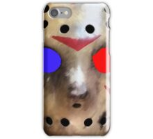 FRIDAY THE 13TH - in 3D!!! iPhone Case/Skin