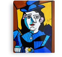 PICASSO PAINTING BY NORA  MAN WITH BALL Metal Print