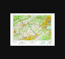 USGS TOPO Map New Jersey NJ Newark 255461 1944 250000 Unisex T-Shirt