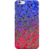 Neon Pink Purple Abstract Pattern  iPhone Case/Skin