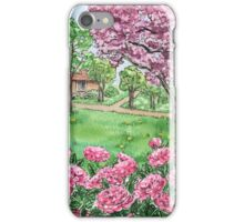 Peonies Season  iPhone Case/Skin