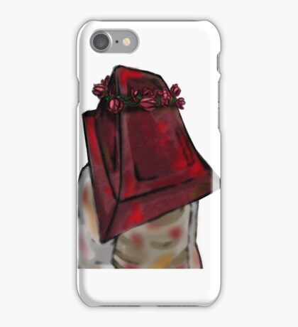 silent hill flower crowns - pyramid head iPhone Case/Skin