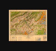 USGS TOPO Map New Jersey NJ Newark 707491 1949 250000 Unisex T-Shirt