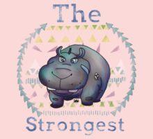 Strongest   Kids Tee
