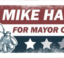 Mike Haggar Mayor of America Sticker