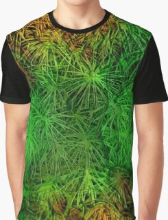 Verdant Summer - Evergreen Graphic T-Shirt