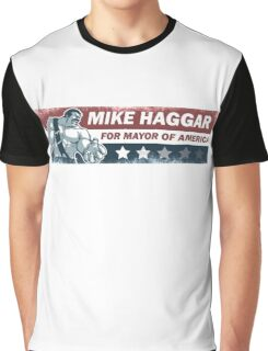 Mike Haggar Mayor of America Graphic T-Shirt
