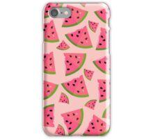 Juicy Watermelon Slice Pattern iPhone Case/Skin