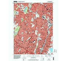 USGS TOPO Map New Jersey NJ Orange 254678 1995 24000 Photographic Print