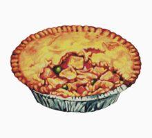 Chicken Pot Pie Pattern Kids Tee