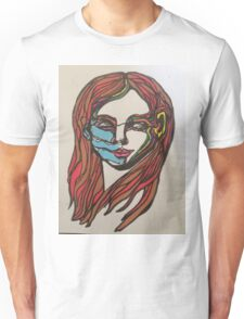 Self portrait 1 Unisex T-Shirt