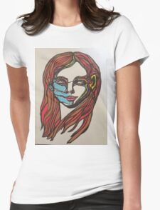 Self portrait 1 Womens Fitted T-Shirt