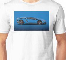 Blue Aventador LP 750-4 Superveloce Unisex T-Shirt