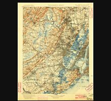 USGS TOPO Map New Jersey NJ Passaic 255441 1900 125000 Unisex T-Shirt