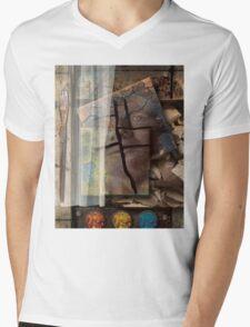 Portrait From Memory Mens V-Neck T-Shirt