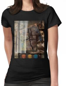 Portrait From Memory Womens Fitted T-Shirt