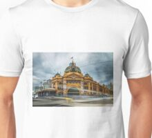 Rush Hour at Flinders Station Unisex T-Shirt