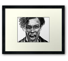 Matthew Gray Gubler Drawing Framed Print