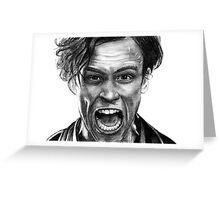 Matthew Gray Gubler Drawing Greeting Card