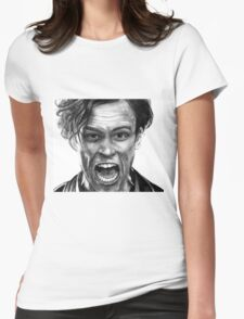 Matthew Gray Gubler Drawing Womens Fitted T-Shirt