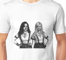 2 Broke Girls Drawing Unisex T-Shirt