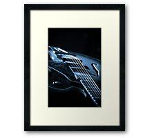 Guitar Light Framed Print