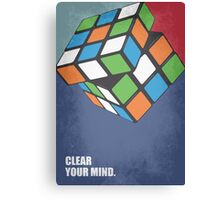 Clear Your Mind - Corporate Start-up Quotes Canvas Print