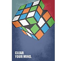 Clear Your Mind - Corporate Start-up Quotes Photographic Print