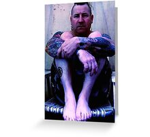 Tattooed Punk Greeting Card