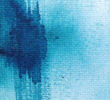 Blue Wash Sticker