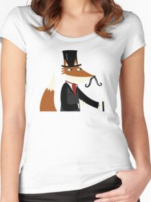 Sir Fox Women's Fitted Scoop T-Shirt