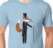 Mr Fox Takes a Stroll Unisex T-Shirt