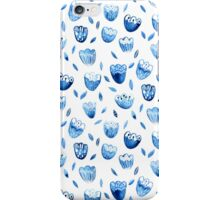 Blue Blossoms iPhone Case/Skin