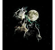 Rembulan : Wolves Photographic Print