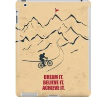 Dream It Believe It Achieve It Corporate Start-up Quotes iPad Case/Skin
