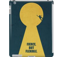 Fierce, But Flexible Corporate Start-up Quotes iPad Case/Skin