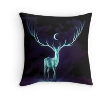 Rembulan : The Deer Throw Pillow