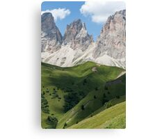 landscape rocky mountain Canvas Print