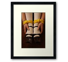 Bound Wrists and Ankles Framed Print