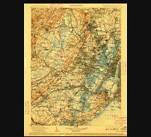 USGS TOPO Map New Jersey NJ Passaic 255443 1905 125000 Unisex T-Shirt