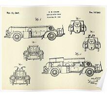 Service Motor Truck-1947 Poster