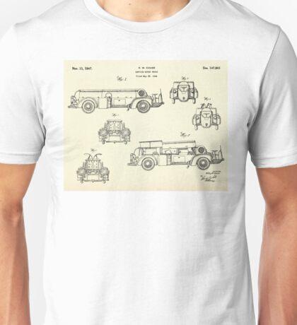 Service Motor Truck-1947 Unisex T-Shirt