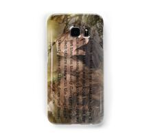 Outlander/Jamie & Claire Fraser/Diana Gabaldon/Voyager Samsung Galaxy Case/Skin
