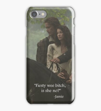 Outlander Quote/Jamie & Claire Fraser iPhone Case/Skin