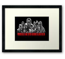 Predator - Rescue Team (not assassins) Framed Print