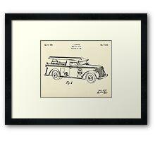 Motor Pump Vehicle-1939 Framed Print