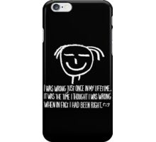 my personal quote iPhone Case/Skin