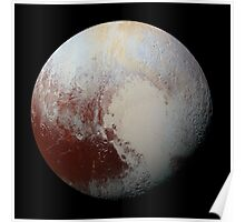 Pluto, by new horizons Poster
